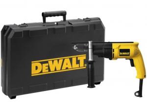 DeWALT D21721K-QS 650 W-os, 2-sebességes ütvefúrógép kofferben