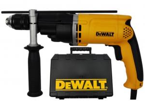 DeWALT D21805KS-QS 770W-os 2-sebességes ütvefúrógép gyorstokmánnyal kofferben