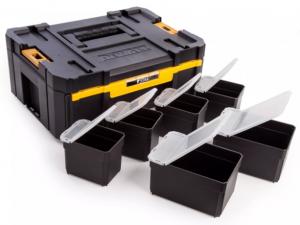 DeWALT DWST1-70705 TSTAK™ III Mély fiókkal mely tartalmazz 6 tárolórekeszt