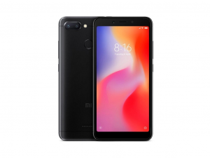 Xiaomi Redmi 6 Dual Sim 32GB 3GB RAM LTE Fekete