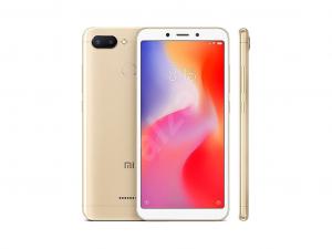Xiaomi Redmi 6 Dual Sim 32GB 3GB RAM LTE Arany\r\n