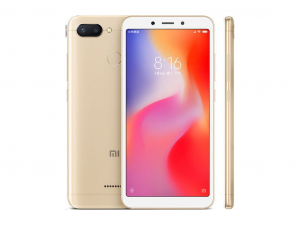 Xiaomi Redmi 6A 16GB 2GB DualSim Arany Okostelefon