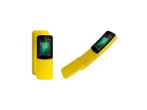 Nokia 8110 LTE Dual Sim Banán Sárga