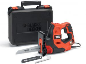 Black & Decker RS890K-QS 500W Scorpion® háromfunkciós elektromos kézifűrész Autoselect® technológiával kofferben
