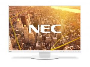 NEC Display MultiSync EA245WMi-2 61 cm (24) WLED LCD Monitor - 16:10 - 6 ms GTG - 1920 x 1200 - 16.7 Millió szín - 300 cd/m² - 1,000:1 - WUXGA - DVI - HDMI - VGA - DisplayPort - USB - 28 W - Fehér