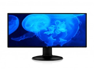 V7 L27HAS2K-2E 68.6 cm (27) LED LCD Monitor - Fekete