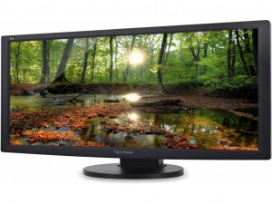 Viewsonic VG2233-LED 54.6 cm (21.5) LED LCD Monitor - Fekete