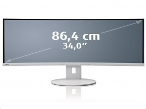 Fujitsu B34-9 UE 86.3 cm (34) LED LCD Monitor - Márványszürke