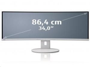Fujitsu B34-9 UE - 34-Colos Márványszürke UWQHD 21:9 60Hz 5ms LCD LED Monitor