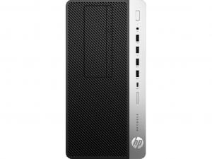 HP Business Desktop ProDesk 600 G4 asztali számítógép- Intel® Core™ i3 Processzor (8th Gen) i3-8100 3.60 GHz - 4 GB DDR4 SDRAM - Intel® UHD Graphics 630 Graphics