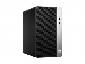 HP ProDesk 400 G5 MT Asztali PC - Intel® Core™ i3 Processzor-8100, 4GB, 500GB HDD, Win 10 pro