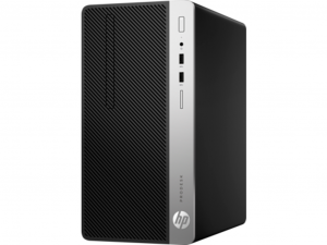 HP Business Desktop ProDesk 400 G5 asztali számítógép- Intel® Core™ i3 Processzor (8th Gen) i3-8100 3.60 GHz - 4 GB DDR4 SDRAM - 500 GB HDD - Windows 10 Pro 64-bit (Angol) - DVD-író- Intel® UHD Graphics 630