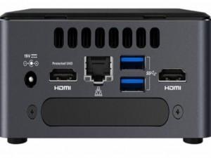 Intel® NUC NUC8i3BEH asztali számítógép - Intel® Core™ i3 Processzor (8th Gen) i3-8109U 3 GHz DDR4 SDRAM - Intel® Iris Plus Graphics 655 Graphics - Wireless LAN - Bluetooth - Intel® Optane Memory Ready - HDMI - 7 x Total USB Port(s) - USB Type-C