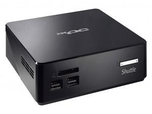 Shuttle XPC nano NS02E asztali számítógép - ARM Cortex A53 RK3368 1.50 GHz - 2 GB DDR3L SDRAM - 16 GB Flash Memory Capacity - Android 5.1.1 Lollipop - Mini PC - Fekete - PowerVR SGX6110 Graphics