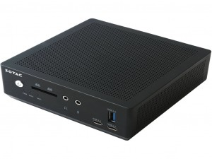 Zotac ZBOX nano M ZBOX-MI549NANO-BE asztali számítógép - Intel® Core™ i5 Processzor (7th Gen) i5-7300U 2.60 GHz DDR4 SDRAM - Intel® HD Graphics 620 Graphics - Fekete