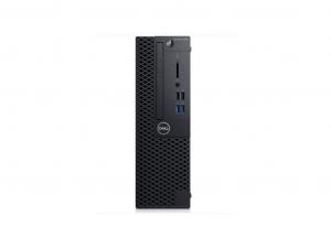 Dell OptiPlex 3000 3060 asztali számítógép - Intel® Core™ i3 Processzor (8th Gen) i3-8100 3.60 GHz - 4 GB DDR4 SDRAM - 128 GB SSD - Windows 10 Pro - DVD-író - Intel® UHD Graphics 630 Graphics