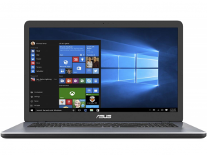 Asus VivoBook X705MB-GC001T 17.3 FHD, Intel® Pentium N5000, 4GB, 1TB HDD, NVIDIA GeForce MX110 - 2GB, Win10H, szürke notebook