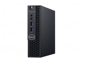 DELL OPTIPLEX 3060 Micro ház, Intel® Core™ i3 Processzor-8100T - 4GB DDR4, 500GB SSD, WLAN