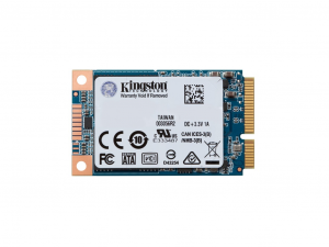 Kingston 120GB mSATA SUV500MS/120G SSD meghajtó