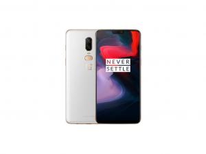 OnePlus 6 128GB/8GB RAM Dual Sim Fehér
