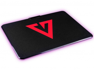 Modecom Volcano Rift RGB világítós gamer egérpad