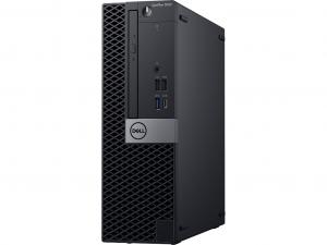 DELL Optiplex 5070 SFF Intel® Core™ i7 Processzor-9700 - 8 GB RAM - 256 GB SSD Win10Pro Fekete Asztali Számítógép