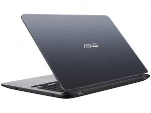 Asus X407UA-BV369T 14 HD, Intel® Core™ i3 Processzor-7020U, 4GB, 128GB SSD, Intel® HD Graphics 510, Win10, szürke laptop