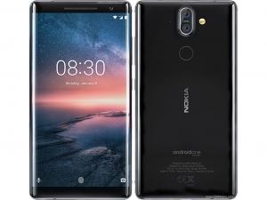 Nokia 8 Sirocco 128GB LTE Fekete