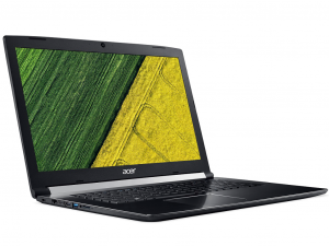Acer Aspire 7 A717-72G-773C notebook - Intel® Core™ i7-8750H - 12 GB DDR4 - 1TB HDD - NVIDIA® GeForce® GTX 1060 6GB - fekete - Linux
