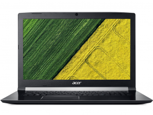 Acer Aspire 7 A717-72G-755N notebook - fekete - Intel® Core™ i7-8750H Hexa-Core - 12 GB DDR4 - 1TB HDD - NVIDIA® GeForce® GTX 1050 4GB - Linux