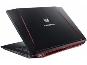 Acer Predator Helios PH317-52-76BM notebook - Intel® Core™ i7-8750H - 16 GB DDR4 - 1TB HDD - NVIDIA® GeForce® GTX 1050Ti 4GB - Linux - fekete