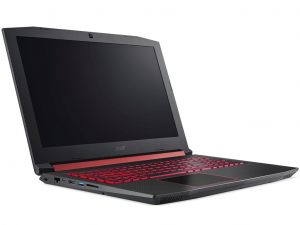 Acer Nitro 5 AN515-52-75WJ 15.6 FHD IPS, Intel® Core™ i7 Processzor-8750H, 8GB, 1TB HDD, NVIDIA GeForce GTX 1060 - 6GB, linux, fekete notebook