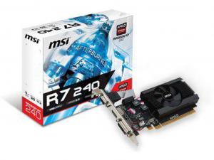 MSI PCIe AMD R7 240 1GB DDR3 videokártya