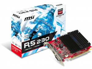 MSI AMD R5 230 1GB DDR3 videokártya