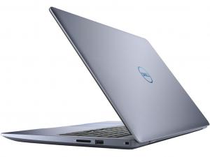 DELL INSPIRON G3 3579 15.6 FHD IPS, Intel® Core™ i7 Processzor 8750H Hexa Core, 8GB, 256GB SSD, Nvidia GTX 1050Ti 4GB GDDR5, ujjlenyomatolvasó, háttérvilágításos bill., linux, kék notebook