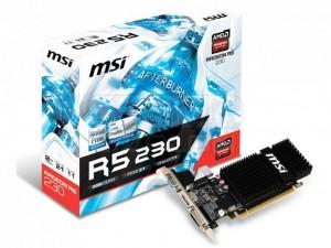 MSI AMD Radeon R5 230 2GB DDR3 videokártya