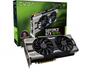 EVGA GeForce GTX 1070 Ti gamer videokártya