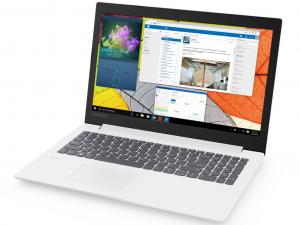 Lenovo Ideapad 330-15IKB 81DC00KXHV 15.6 HD, Intel® Core™ i3 Processzor-7100U, 4GB, 1TB HDD, AMD Radeon 530 - 2GB, Dos, Fehér Laptop