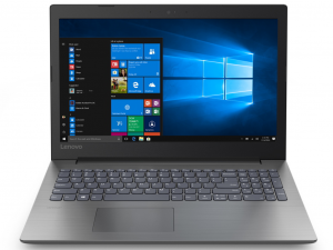 Lenovo Ideapad 330-15IKB 81DC00KVHV 15.6 HD, Intel® Core™ i3 Processzor-7100U, 4GB, 1TB HDD, AMD Radeon 530 - 2GB, Win10H, fekete notebook