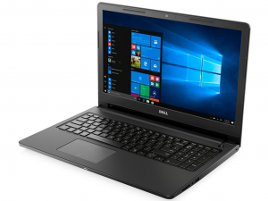 Dell Inspiron 3567 15.6 HD, Intel® Core™ i3 Processzor-7020U, 4GB, 1TB HDD, Dos, fekete notebook