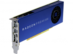 AMD Radeon Pro WX 3100 videokártya - 4 GB GDDR5