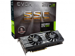 EVGA GeForce GTX 1060 videokártya - 3 GB GDDR5