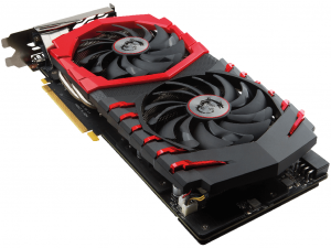 MSI GeForce GTX 1060 GAMING X 6G GDDR5 videokártya