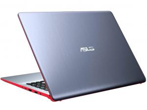 Asus VivoBook S530UN-BQ082 15.6 FHD, Intel® Core™ i5 Processzor-8250U, 8GB, 256GB SSD, NVIDIA GeForce MX150 - 2GB, linux, ezüst-piros notebook
