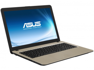 Asus X540MA-GQ165 15.6 HD, Intel® N4100, 8GB, 128GB SSD, Int VGA, linux, fekete notebook