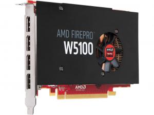 AMD FirePro W5100 videokártya 4GB GDDR5