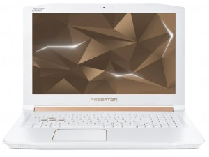 Acer Predator Helios PH315-51-763K notebook - Intel® Core™ i7-8750H - 16GB - 1TB HDD - NVIDIA® GeForce® GTX 1060 6GB - Linux - Fehérarany