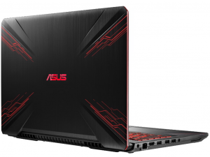 Asus TUF Gaming FX504GE-EN496 15,6 FHD 120Hz, Intel® Core™ i7-8750H, 8GB, 1TB HDD, NVIDIA® GeForce® GTX 1050Ti 4GB, FreeDOS, Fekete notebook