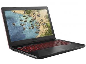 Asus Rog TUF FX504GE-E4640 15.6 FHD, Intel® Core™ i5 Processzor-8300H, 8GB, 1TB HDD, NVIDIA GeForce GTX 1050Ti - 4GB, linux, fekete notebook