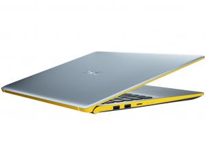 Asus VivoBook S530UN-BQ134 15.6 FHD, Intel® Core™ i7 Processzor-8550U, 8GB, 256GB SSD, NVIDIA GeForce MX150 - 2GB, linux, ezüst-sárga notebook